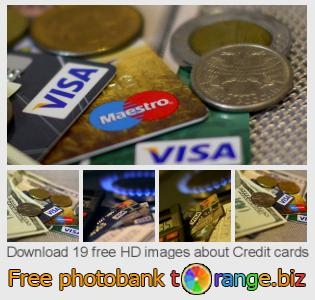 Image bank tOrange offers free photos from the section:  credit-cards
