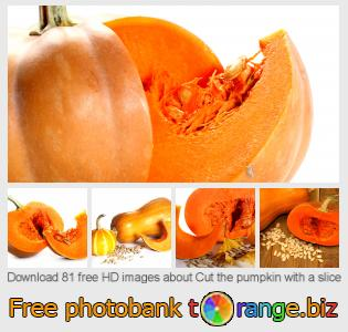 images free photo bank tOrange offers free photos from the section:  cut-pumpkin-slice