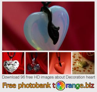 Image bank tOrange offers free photos from the section:  decoration-heart