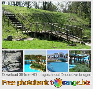images free photo bank tOrange offers free photos from the section:  decorative-bridges