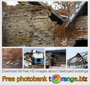 images free photo bank tOrange offers free photos from the section:  destroyed-buildings