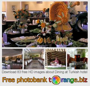 images free photo bank tOrange offers free photos from the section:  dining-turkish-hotel