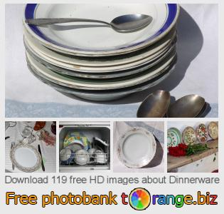 images free photo bank tOrange offers free photos from the section:  dinnerware