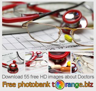 Image bank tOrange offers free photos from the section:  doctors