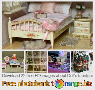images free photo bank tOrange offers free photos from the section:  dolls-furniture