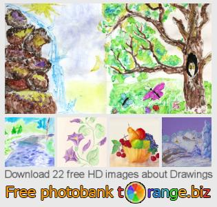 Image bank tOrange offers free photos from the section:  drawings