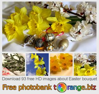 Image bank tOrange offers free photos from the section:  easter-bouquet