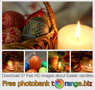 images free photo bank tOrange offers free photos from the section:  easter-candles