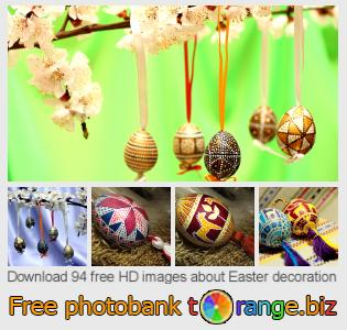 images free photo bank tOrange offers free photos from the section:  easter-decoration