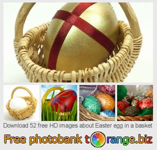 Image bank tOrange offers free photos from the section:  easter-egg-basket