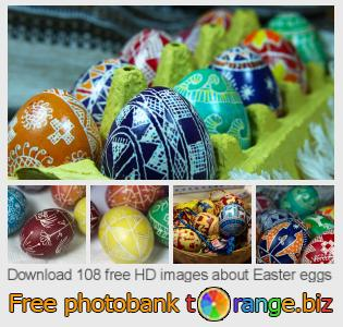 Image bank tOrange offers free photos from the section:  easter-eggs