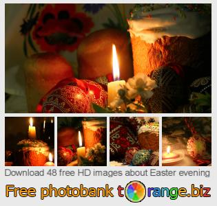 Image bank tOrange offers free photos from the section:  easter-evening