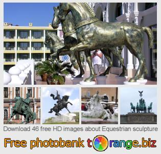 images free photo bank tOrange offers free photos from the section:  equestrian-sculpture