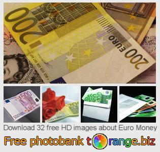 images free photo bank tOrange offers free photos from the section:  euro-money