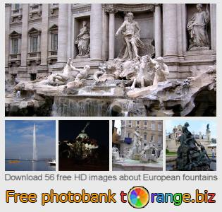images free photo bank tOrange offers free photos from the section:  european-fountains
