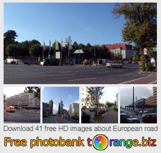 images free photo bank tOrange offers free photos from the section:  european-road