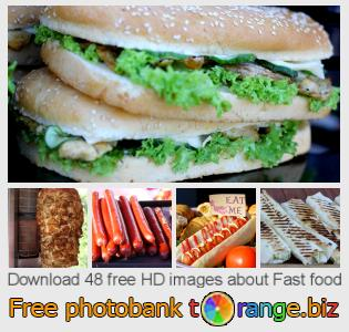 images free photo bank tOrange offers free photos from the section:  fast-food