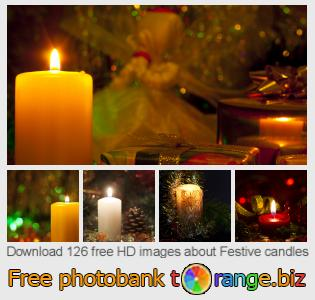 images free photo bank tOrange offers free photos from the section:  festive-candles