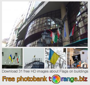 Image bank tOrange offers free photos from the section:  flags-buildings
