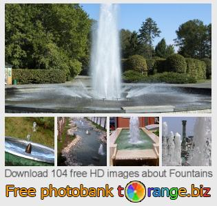 images free photo bank tOrange offers free photos from the section:  fountains