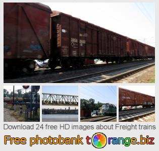 Image bank tOrange offers free photos from the section:  freight-trains