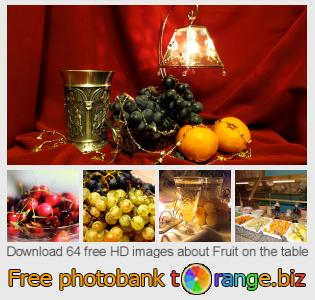 images free photo bank tOrange offers free photos from the section:  fruit-table