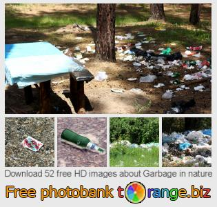 images free photo bank tOrange offers free photos from the section:  garbage-nature