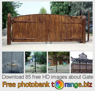 images free photo bank tOrange offers free photos from the section:  gate