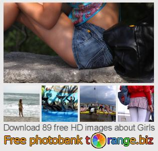images free photo bank tOrange offers free photos from the section:  girls