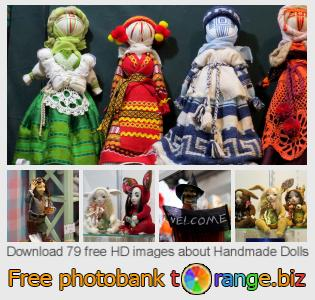 images free photo bank tOrange offers free photos from the section:  handmade-dolls