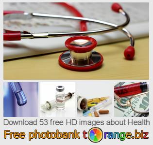 Image bank tOrange offers free photos from the section:  health