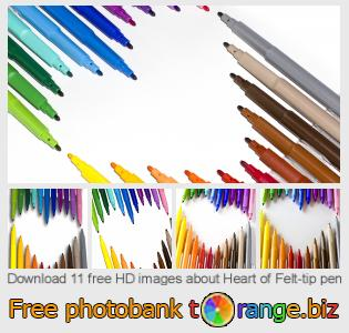 images free photo bank tOrange offers free photos from the section:  heart-felt-tip-pen
