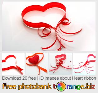 images free photo bank tOrange offers free photos from the section:  heart-ribbon