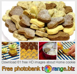 Image bank tOrange offers free photos from the section:  home-cookie