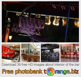 Image bank tOrange offers free photos from the section:  interior-bar
