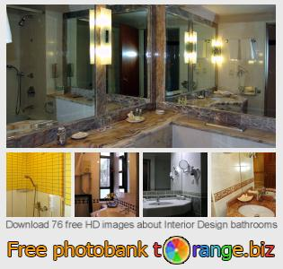 images free photo bank tOrange offers free photos from the section:  interior-design-bathrooms