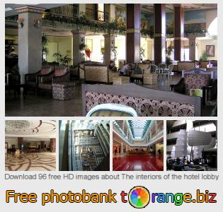 Image bank tOrange offers free photos from the section:  interiors-hotel-lobby