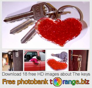 Image bank tOrange offers free photos from the section:  keys