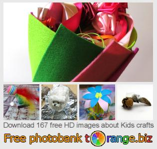 Image bank tOrange offers free photos from the section:  kids-crafts