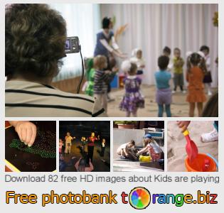 Image bank tOrange offers free photos from the section:  kids-playing