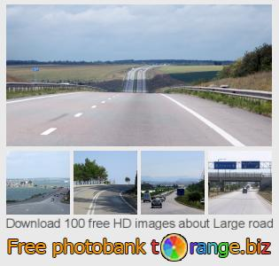Image bank tOrange offers free photos from the section:  large-road