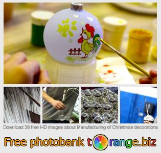 images free photo bank tOrange offers free photos from the section:  manufacturing-christmas-decorations