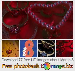 Image bank tOrange offers free photos from the section:  march-8