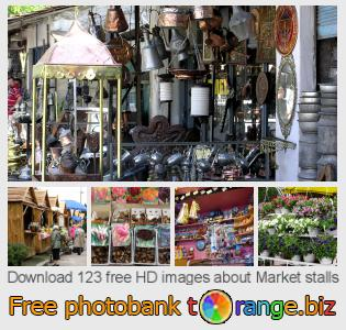 Image bank tOrange offers free photos from the section:  market-stalls