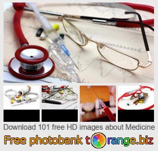 Image bank tOrange offers free photos from the section:  medicine