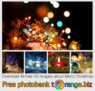 Image bank tOrange offers free photos from the section:  merry-christmas