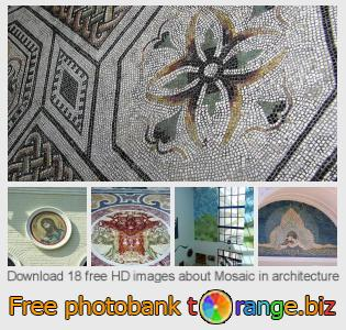 images free photo bank tOrange offers free photos from the section:  mosaic-architecture