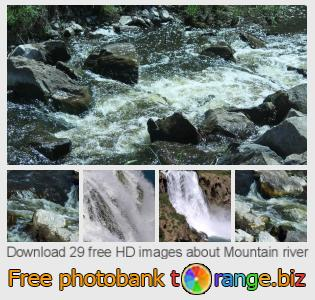 Image bank tOrange offers free photos from the section:  mountain-river