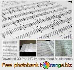 images free photo bank tOrange offers free photos from the section:  music-notes