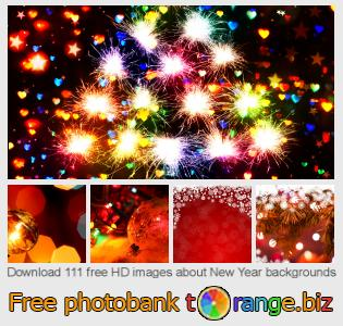 Image bank tOrange offers free photos from the section:  new-year-backgrounds